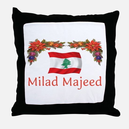 Lebanon Milad Majeed 2 Throw Pillow