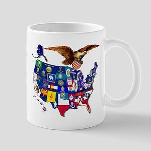 American State Flags Mug