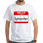 Hello my name is Sylvester White T-Shirt