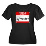 Hello my name is Sylvester Women's Plus Size Scoop