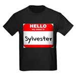 Hello my name is Sylvester Kids Dark T-Shirt