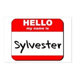 Hello my name is Sylvester Postcards (Package of 8