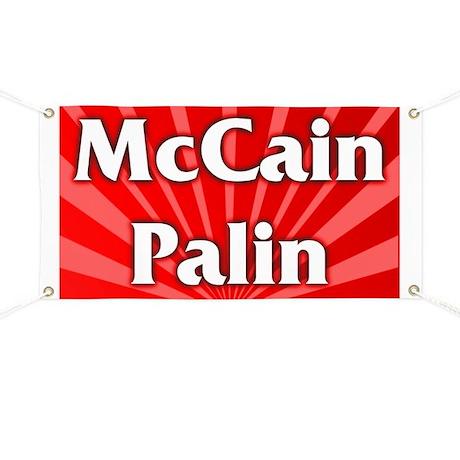 McCain Palin Banner