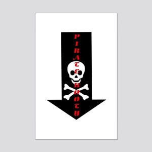 Naughty Pirate Booty Mini Poster Print