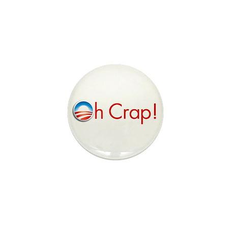 Oh Crap Obama Mini Button (10 pack)