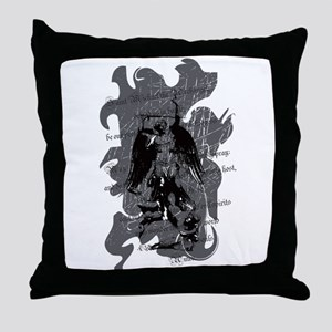 St. Michael: Protection Throw Pillow