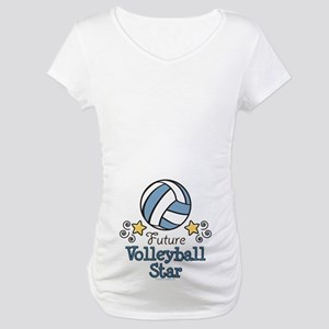 Future Volleyball Star Maternity T-Shirt