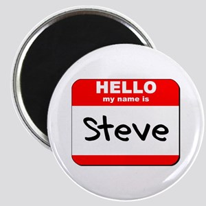 Hello my name is Steve Magnet