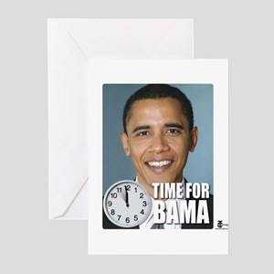 Time For Obama Greeting Cards (Pk of 10)
