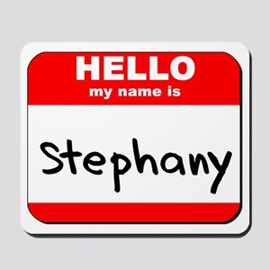 Hello my name is Stephany Mousepad