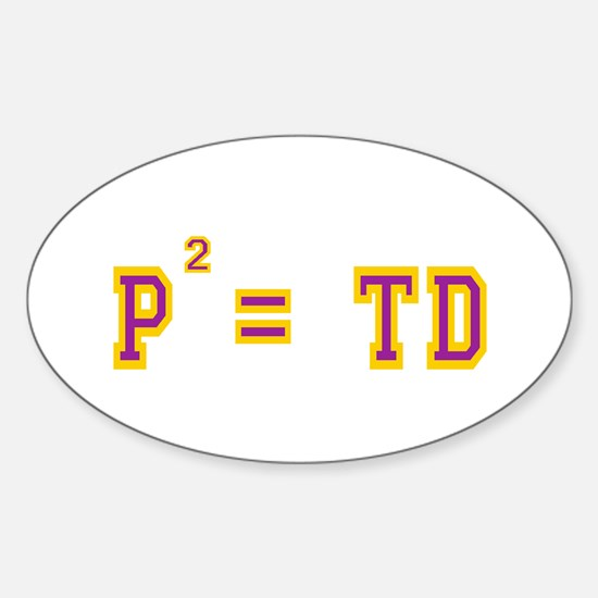P2 = TD Oval Decal