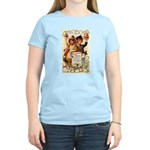 Thanksgiving Menu Women's Light T-Shirt
