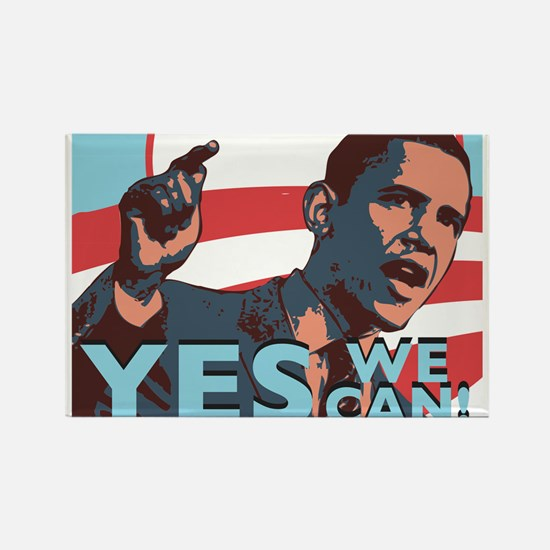 Yes We Can! Rectangle Magnet (100 pack)