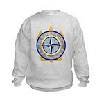 USS CLAUDE V. RICKETTS Kids Sweatshirt