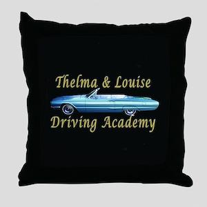Driving Academy Throw Pillow