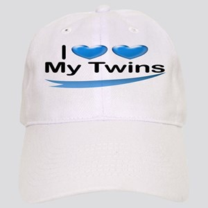 I Love My Twins Cap