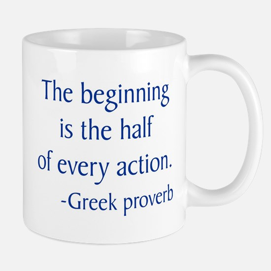 Greek Proverb Mug