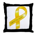 Support Our Schools Throw Pillow