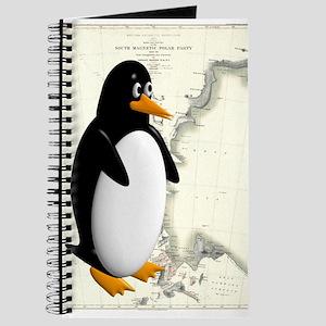 Penguin Antarctica Background Journal