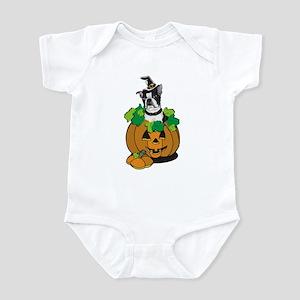 Boston in Pumpkin Infant Bodysuit