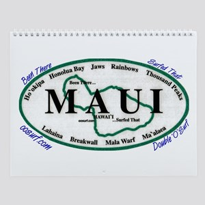 Maui - Been There Surfed That - Wall Calendar