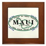 Maui - Been There Surfed That - Framed Tile