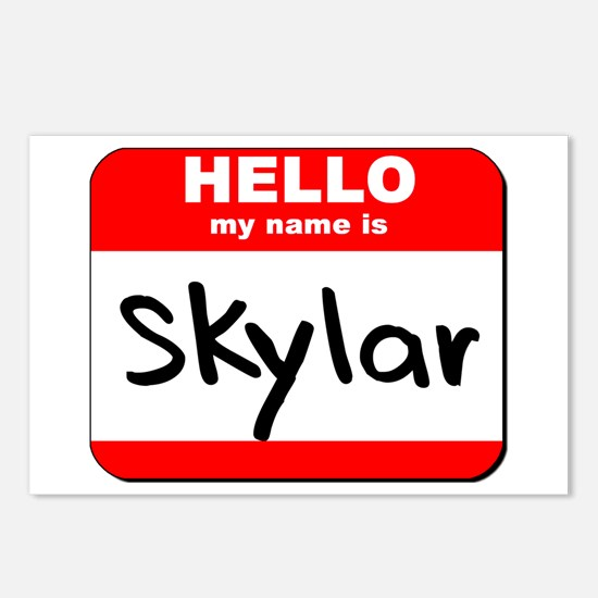 Hello my name is Skylar Postcards (Package of 8)