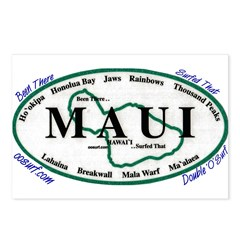 Maui - Been There Surfed That Postcards (Package o