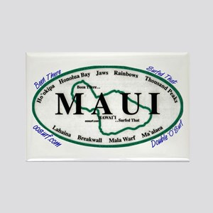 Maui - Been There Surfed That Rectangle Magnet
