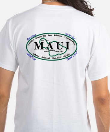 Maui - Been There Surfed That - White T-Shirt