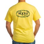 Maui - Been There Surfed That - Yellow T-Shirt