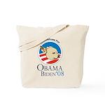 Chihuahuas For Obama Tote Bag