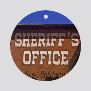 Law and Order Ornament (Round)