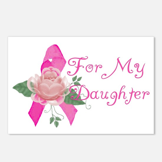 Breast Cancer Support Daughter Postcards (Package