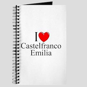 """I Love (Heart) Castelfranco Emilia"" Journal"