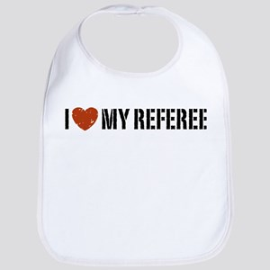 I Love My Referee Bib