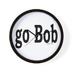 go Bob Wall Clock