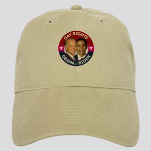 Obama-Biden Gay Pride 32 Cap