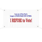 NO VOTE #3 Banner