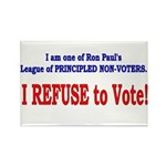 NO VOTE #3 Rectangle Magnet (10 pack)