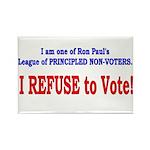 NO VOTE #3 Rectangle Magnet