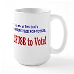 NO VOTE #3 Large Mug
