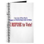 NO VOTE #3 Journal