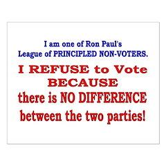 No VOTE #2 Posters