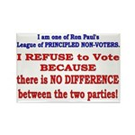 No VOTE #2 Rectangle Magnet (10 pack)