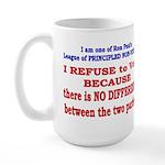 No VOTE #2 Large Mug