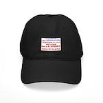 No VOTE #2 Black Cap