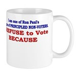 NO VOTE #1 Mug