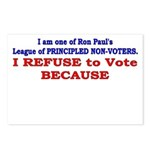 NO VOTE #1 Postcards (Package of 8)