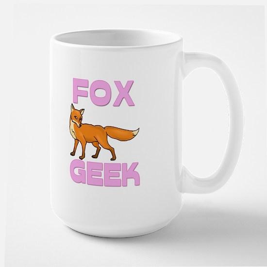 Fox Geek Large Mug